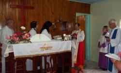 Visita de Dom Renato a Missão São Francisco de Assis