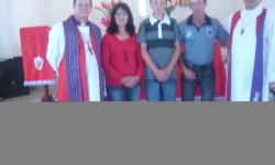 Visita a área pastoral da Paróquia Santo André