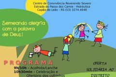 Encontro Diocesano de Crianças 11 de Outubro de 2014