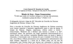 Carta Pastoral 36ª. Reunião do Concílio