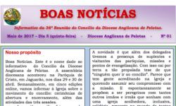 Informativo da 36ª Reunião do Concílio da Diocese Anglicana de Pelotas