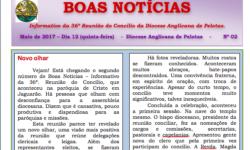 Segundo Informativo da 36ª Reunião do Concílio da Diocese Anglicana de Pelotas
