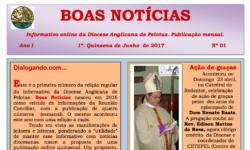 Informativo online da Diocese Anglicana de Pelotas – N1