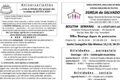 Boletim Egreja de 16 a 22072017 – Paróquia do Salvador – RG
