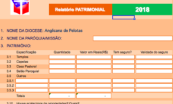 Formulários Nacional – Estatístico, Financeiro e Patrimonial 2018