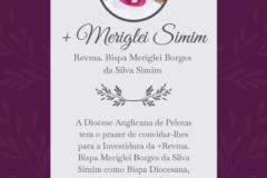 Convite para a Investidura Episcopal