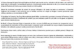 CARTA DA CÂMARA EPISCOPAL SOBRE A PANDEMIA COVID-19